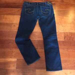SILVER SUKI MID STRAIGHT Jeans (32x32)